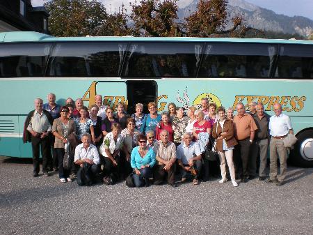 Einen erlebnisreichen Ausflug hatten die Senioren aus Dalaas