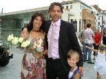Ex-Fußballprofi Hans Kogler heiratete seine Freundin Bianca.
