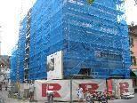 Fassadenerneuerung der Bank Austria Filiale