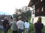 Frühmesshaus Bartholomäberg - Historische Führung am 26.08.09