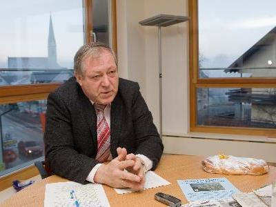 Helmut Leite leitete viele Jahre die Geschicke von Schwarzach