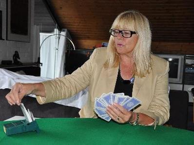 Inge Walter- eine leidenschaftliche Bridgespielerin