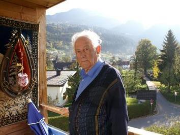 Josef Nenning ist mit 94 Jahren der längst sesshafte Bewohner im IAP.