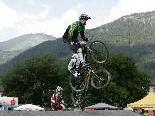 Julian Amann liegt beim BMX-Vereinscup noch in Führung.