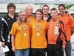 LeichtathletInnen der Sportgemeinschaft in Innsbruck