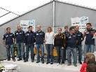 Nachwuchsleiter Thomas Strele und seine Trainerkollegen übergaben die Preise. Foto: Hepberger