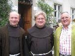 Pater Makary, Quadian Wenzeslaus und Heinz Seeburger (Klostervater aus Bludenz)