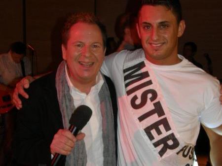 "Roberto Kalin und ""Mister Fußball"" Selcuk Olkum"