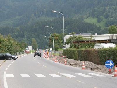 Verkehrsbehinderungen aufgrund von Bauarbeiten an der L190
