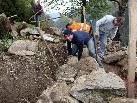 Vom 24. bis 26. September können Interessierte bei der Via Valtellina im Montafon lernen, wie man Trockenmauern baut. (Foto: meznar-media.com)