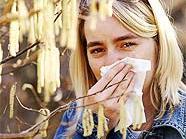 Vor allem Mädchen sind von Allergien betroffen.