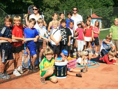 24 Kids nahmen am Tenniscamp des TC Bregenz teil