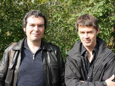 Albrecht Zauner und Patrick Kaufmann