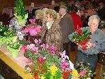 Alle Teilnehmer konnten sich über Blumen- oder Sachpreise freuen.