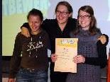 Angelika Geser, Stefanie Hopfner und Natalie Morscher.