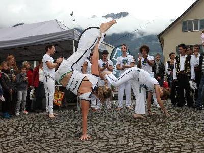 Beim Markt am Borgoplatz  treffen unterschiedliche Kulturen aufeinander.