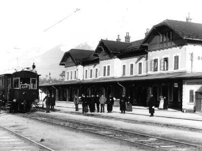 Bludenz eine Stadt der Eisenbahner