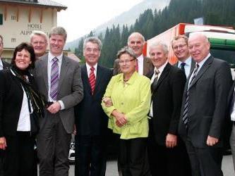 Bregenzerwälder Bürgermeister beim Gemeindetag in Lech