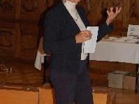 Brigitte Pregenzer referiert in Thüringerberg
