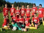 Das Schülerliga-Fußballteam der Talenteschule Doren.
