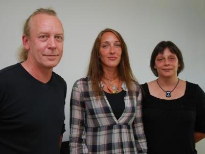 Das Team der Kaplan Bonetti Beratungsstelle: Erich Ströhle, Ulrike Jandorek und Andrea Jakes.