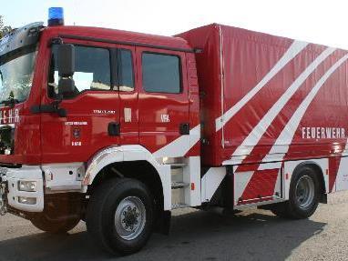 Das neue Versorgungsfahrzeug soll einen raschen Nachschub an die Einsatzstelle gewährleisten.