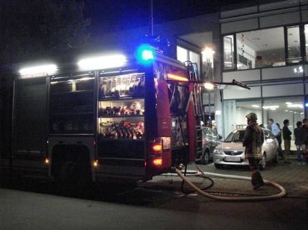 Dem Ernstfall getrotzt: Feuerwehrübung am SPZ.
