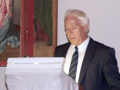 Der Brandner Bürgermeister Erich Schedler war Gastgeber der 3.Walgaukonferenz.