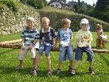 Der Sommer war bunt – in Bildstein. Kinder fanden ein tolles Programm vor, das im Rahmen der Familiengerechten Gemeinde entstanden ist.