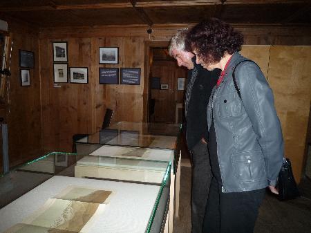Die Ausstellung Mensch und Berg kann nur noch kurze Zeit besichtigt werden.