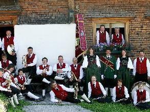 Die Dorfmusik Bürserberg gibt bald ein Konzert