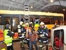 Die Feuerwehr bei der Menschenrettung