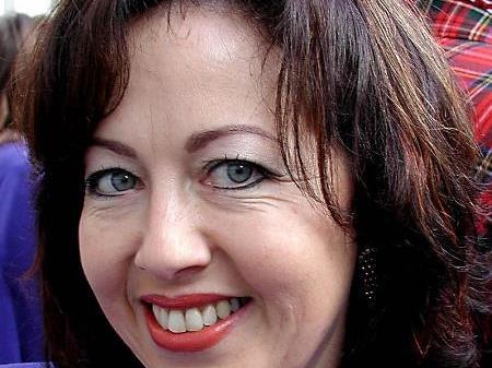 Die Künstlerin Anita Kaufmann aus Lauterach