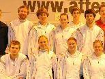 Die Mannschaft des BCM Feldkirch beim Spiel gegen ATSE-Graz