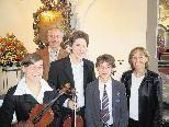 Die Musikerfamilie Breuss lädt am Sonntag, 11. Oktober zum Konzert in die Kirche St. Corneli.