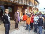 Die Schüler aus Au zu Besuch im Angelika Kauffmann Museum.