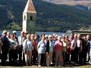 Die Senioren aus Bludenz genossen drei Tage in Südtirol