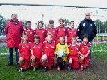 Die U12 Raiba Kids zeigen mit acht ungeschlagenen Spielen eine tolle Leistung in der Meisterschaft.