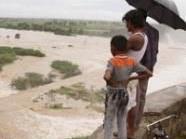 Die Wassermassen rissen Menschen in den Tod