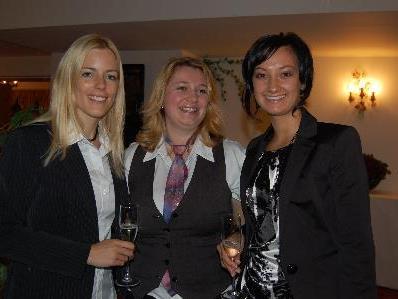 Die drei PR- Ladies der Raiffeisenbanken hatten diesen Abend organisiert.