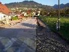 Ein Teil der Bifangstraße bleibt bis Ende November für jeden Straßenverkehr gesperrt.