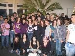Ein bunt gemischtes Publikum feierte die Eröffnung des Jugendcafés.