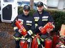 Eine Überprüfungsaktion der Feuerlöscher wird beim Thüringer Herbstmarkt geboten.
