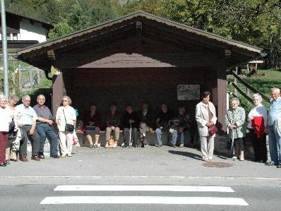 Einen Ausflug nach Bregenz hatten die Senioren aus Braz.