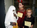 Einige Kinder kamen dem Anlass entsprechend kostümiert