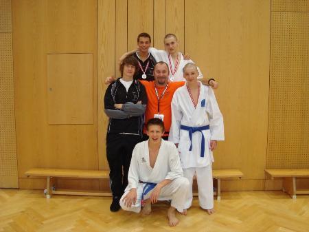 Erfolgreich war der Karateclub Blumenegg in Salzburg.