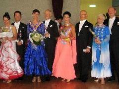 Erfolgreiche Teilnehmer des Tanzsportclubes Bludenz..