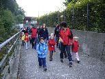 Familienwanderung mit dem Kindergarten Josefsheim