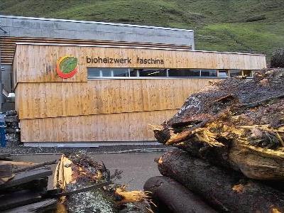Fast ganz Faschina bezieht die Wärmeenergie aus dem Biomasseheizwerk.