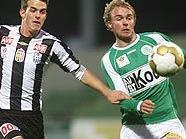 Florian Metz (LASK) gegen Lukas Rath (Mattersburg)